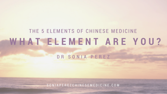 5 Elements of Chinese Medicine